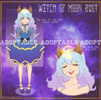 ADOPT WITCH OF MOON DUST [CLOSED] by Notira