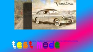 Ford Vedette Vendome vitrine design by Abrimaal