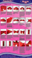 How to Sew a Bow (2/3) Maryjane's Bow Tutorial by MaryjaneDesignStudio