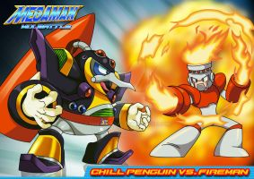 mm mx b fireman vs  c. penguin by Shayeragal