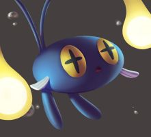 One face a day #83/365. Chinchou