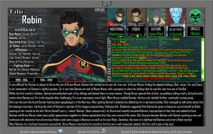 Oracle Files - Damian Wayne 2014-2016 by Roysovitch