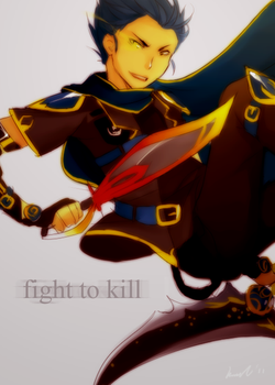 Fight to kill by KimKimsGalore