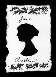 Jane Austen Silhouette by olde-fashioned