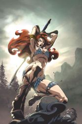 Sonja Goes East Cover A by UdonCrew