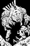 Inks: Rancor by Soriano by JimCampbell