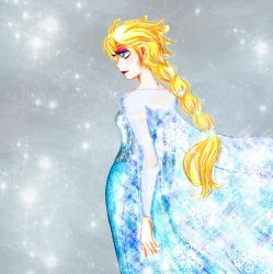 Queen Elsa by Lady-Koyasu