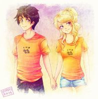 Percabeth by viliann