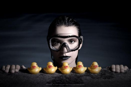 The duck and the face by ettone