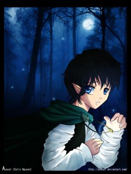Lord of the Ring - Frodo by Ayasal