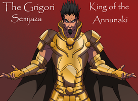 Semjaza~ King of the Annunaki by TheGrigoriAnime