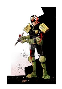 Judge Dredd by SebasP