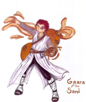 Gaara of the sand by KeeleeHamomin8788