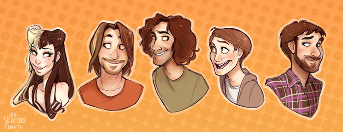 The Game Grumps by Skirtzzz