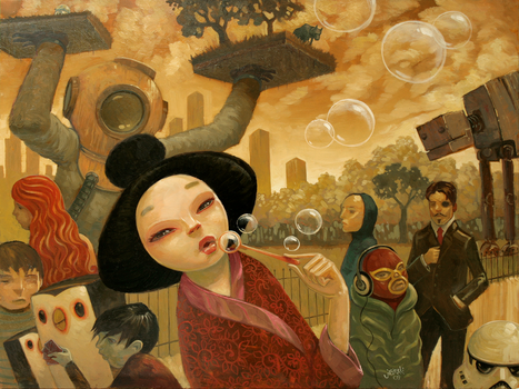 Promenade of Curious Things by jasinski