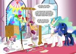 Cutie Mark Crusaders - Glass Makers by labba94