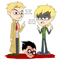 (I REGRET OF THIS) Vervian And Constantine In TTG by InvaderOfFandoms