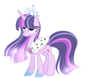 MLP Empress Twilight Star Sparkle |Next Gen| by Enifersuch