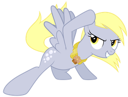 Vector - Derpy Sliding by Ready2Fail