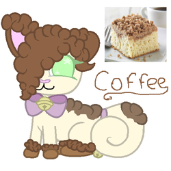 Coffee-MYO Sugar cat 2017 by pikathelover
