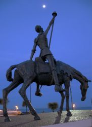 Quijote monument Mar del Plata by DaFeBa