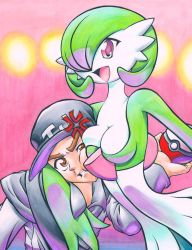 Pokemon: Teejay and Gardevoir by Muffyn-Man