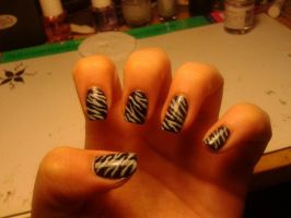 Nail art n.34 by megalomaniaCi