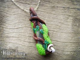Magic Forest Pendant by HiddenTreasury