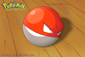 Pokemon Promotional Artwork - Voltorb