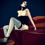 FEMME NOIR by AEONFLAX