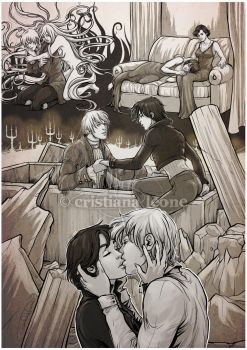 Lovesheet - Lucius and Alice by CristianaLeone