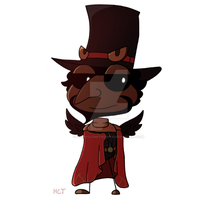 Ringmaster Raven by happyclonetrooper