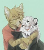 Furry Kissu by WillowWhiskers