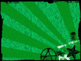 Punk's not dead, its green by muddypuddles