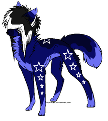 Wolf adoptable 3 -OPEN- by MooMoo-Adopts
