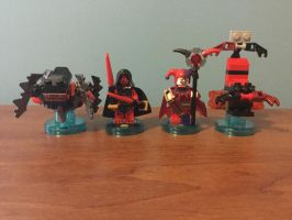 Lego dimensions nexo knights team up pack moc by oldmanspringtrap