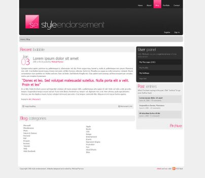 Style Endorsement - Website v3 by weyforth