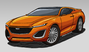 Cadillac Coupe Concept by ScottaHemi