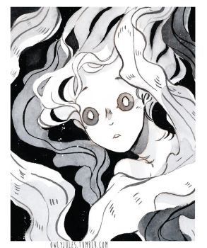 Inktober 2017 - day 4 by Owlyjules