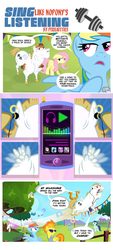 Sing Like Nopony's Listening Comic by PixelKitties
