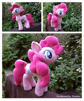 Pinkie Pie Plush by sockmuffin-studios