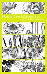 Flower Line textures 03 by mini0714
