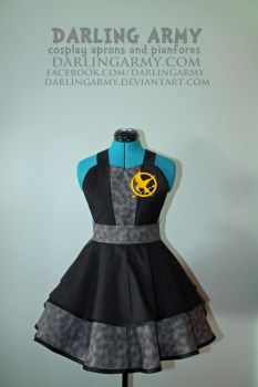 Katniss Everdeen Catching Fire Cosplay Pinafore by DarlingArmy