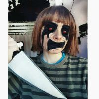 undertale chara cosplay makeup by Thesuperninjax