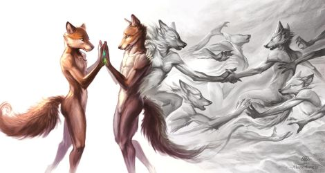 True Colours by AlectorFencer