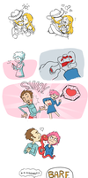 Mother 3: Muchas Smooches by saffronscarf
