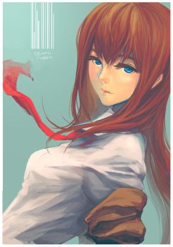SteinsGate - Stare by Yume-Rie