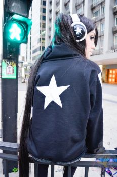 Black Rock Shooter in the real world by thekillerana