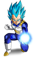 Vegeta SSJ Blue #3 by SaoDVD