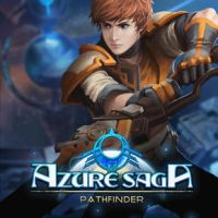 Azure Saga: Pathfinder Cover by Overweight-Cat